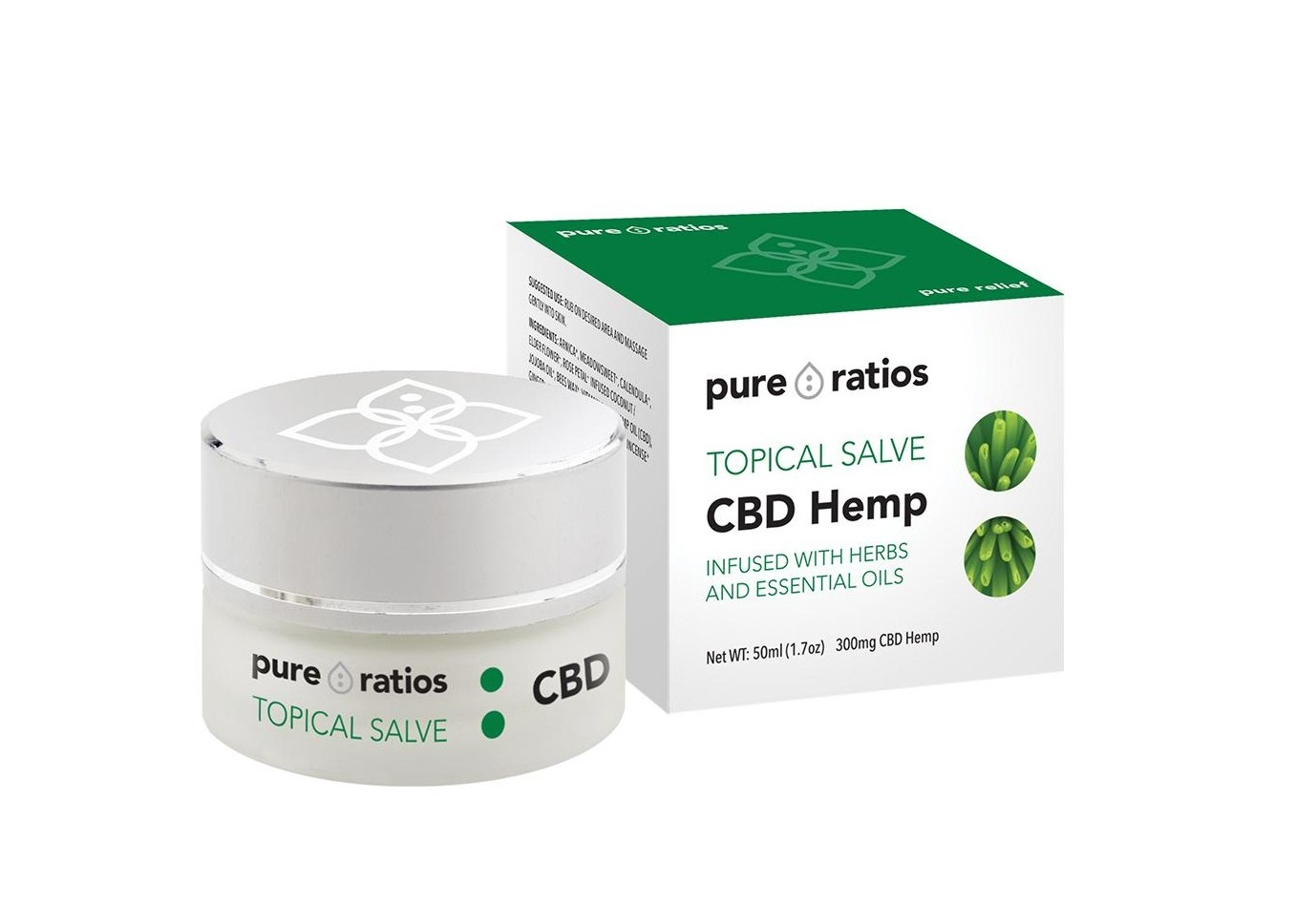 CBD Topical Salve on Greenery Map