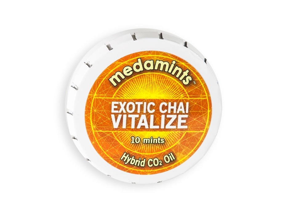 Exotic Chai Vitalize Cannabis Indica/Sativa Hybrid on Greenery Map